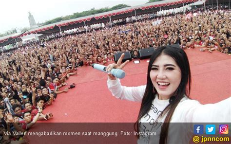 via vallen and i hope you 9 fakta menarik soal via vallen nomor 7 bikin ngeri