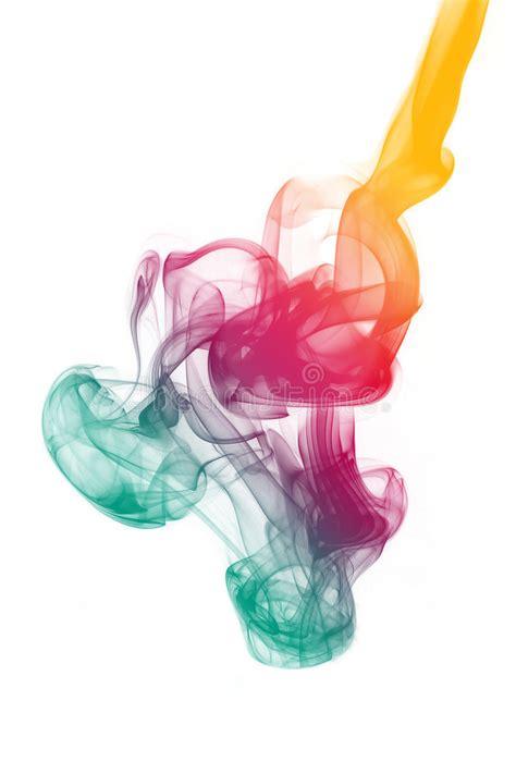 colorful cigarettes smoke colorful smoke stock image image of meditative