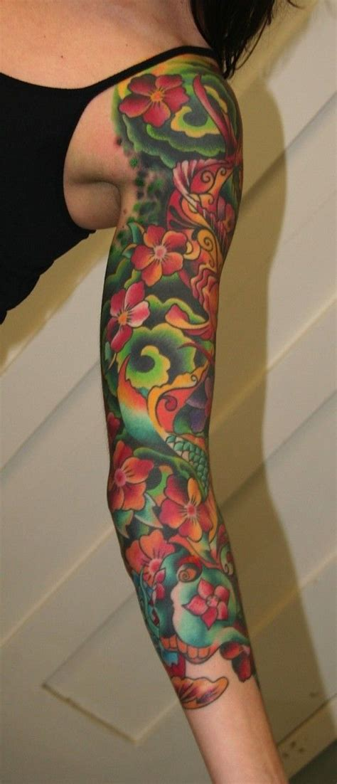 tattoos for women arm sleeve tattoo designs for women