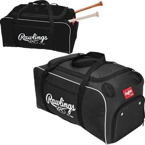 rawlings covert baseball or softball bat duffel bag covert