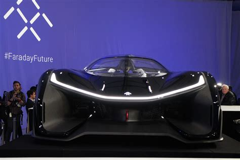 faraday future  green light  test autonomous cars  california