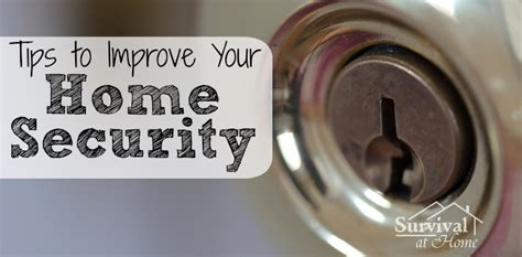 tips to improve your home security opsec at home