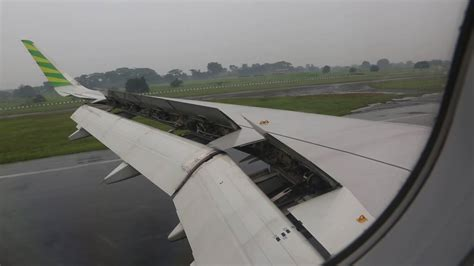 Citilink Landing | citilink indonesia pk gqh landing at halim perdanakusuma