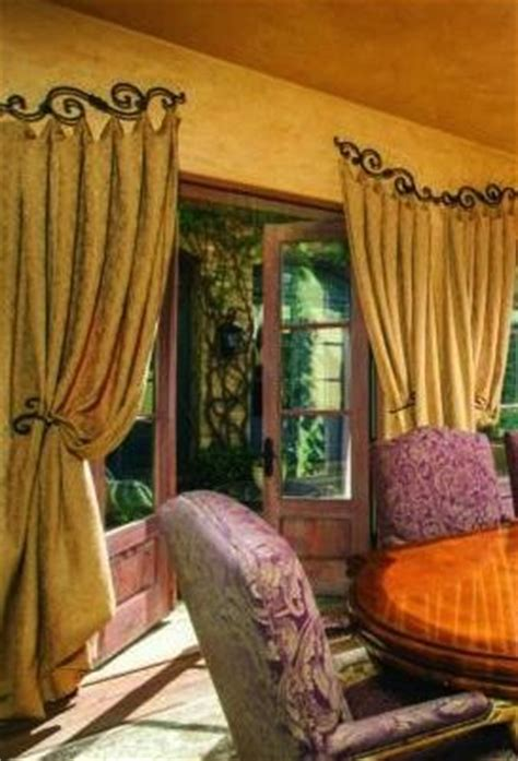 old world curtains and drapes hardware for window treatments old world mediterranean