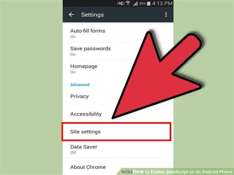 enable javascript for android 3 ways to enable javascript on an android phone