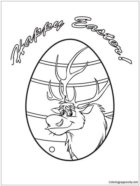 egg design coloring page sven easter egg design coloring page free coloring pages
