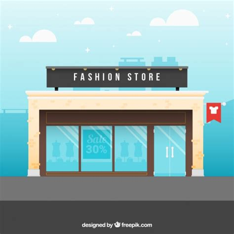 mobile store free a fashion store vector free