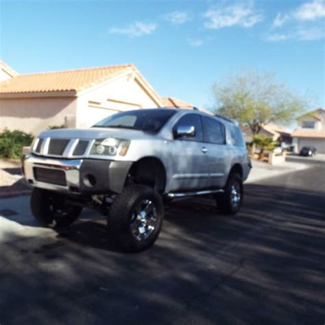 lifted nissan armada purchase used 2004 nissan armada lifted in las vegas