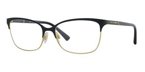 dolce gabbana dg1268 logo plaque eyeglasses free