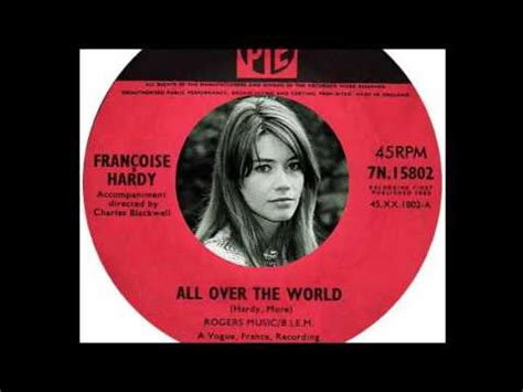 francoise hardy youtube all over the world franoise hardy all over the world 1965 youtube