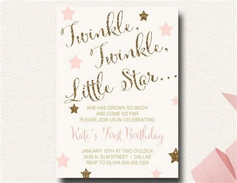 printable birthday invitations cvs 17 best images about twinkle twinkle little star on