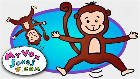 youtube monkeys jumping on the bed five little monkeys jumping on the bed nursery rhymes by myvoxsongs youtube