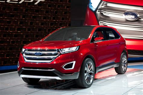 Ford Edge Concept First Look Motor Trend