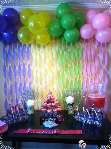birthday decoration ideas at home with balloons homemade party decoration homemade party decorations always offer fun and enjoyment chic decor