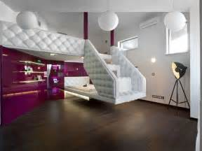 Themes inside each room so cool fascinating fun white stair bedroom