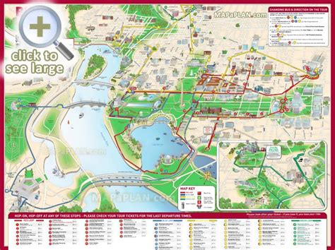 washington dc map points of interest washington dc maps top tourist attractions free
