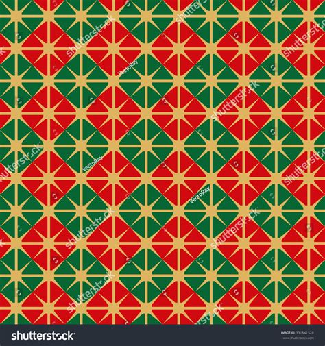 wrapping paper pattern vector seamless christmas wrapping paper pattern stock vector