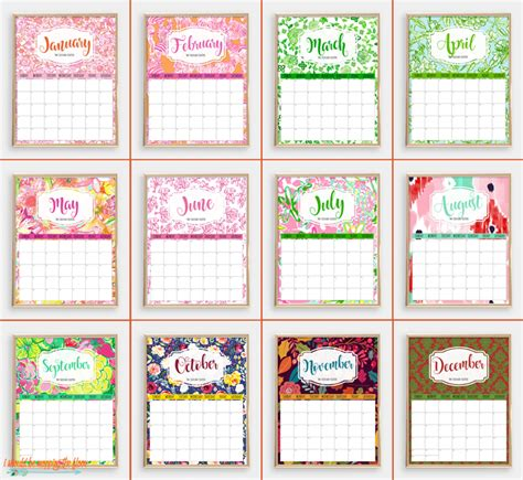 printable calendar 2018 fun i should be mopping the floor colorful 2018 printable