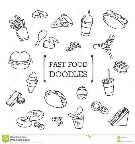 doodle god fast food nugget illustrations vector stock images 550