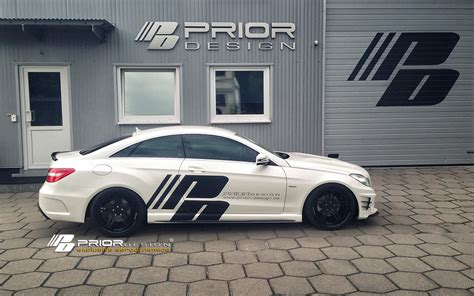 angebot erfragen email mercedes e coupe cabrio c207 prior design pd550 black edition bodykit amg style