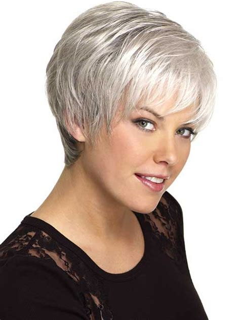 short haircuts for fine grey hair 14 short hairstyles for gray hair short hairstyles 2017