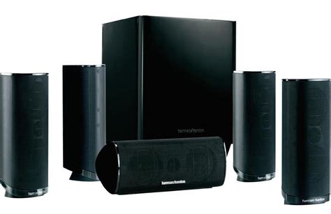 harman kardon 5 1 channel home theater speaker package