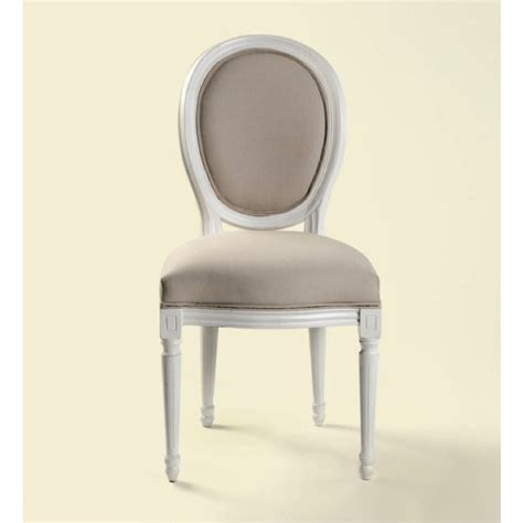 Chaise Medaillon Blanche by Chaise M 233 Daillon Blanche