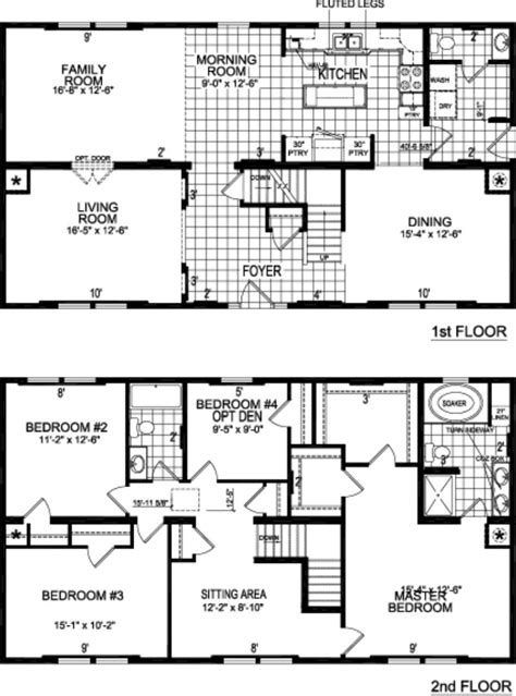 titan homes floor plans agl homes titan sectional modular plans titan 658