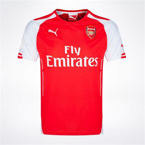 arsenal home jersey 2014 15 supportersplace