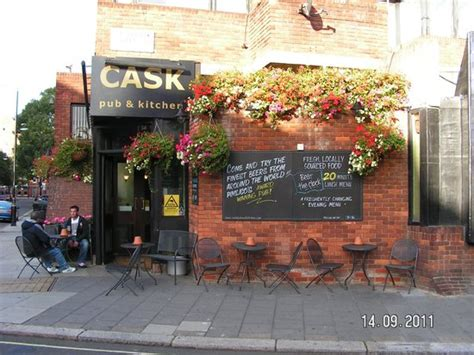 Cask Pub And Kitchen by Sit Outside In The Sun With A Lovely
