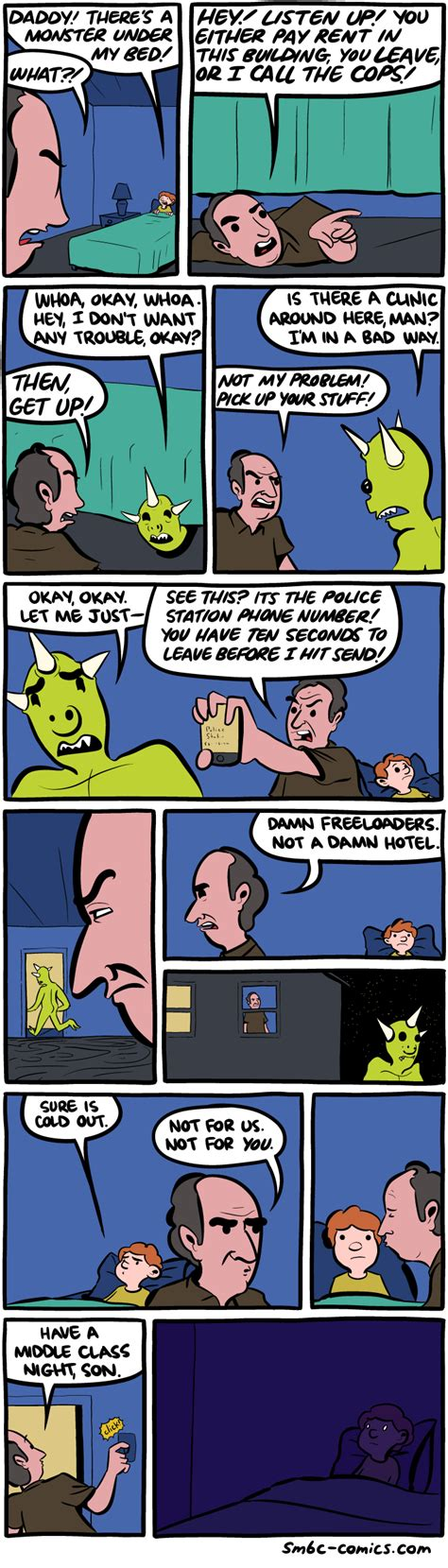 monster under the bed comic saturday morning breakfast cereal the monster under the bed