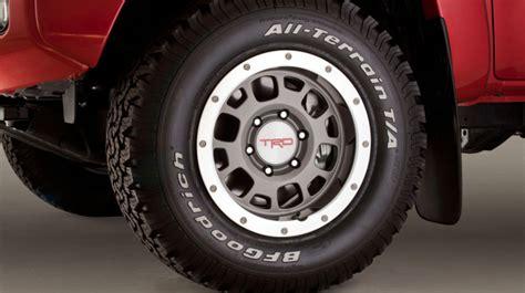 Toyota Tacoma Tire Size Original Toyota Tacoma Tire Sizes 1995 2013