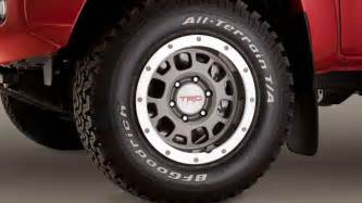 Toyota Tires Original Toyota Tacoma Tire Sizes 1995 2013