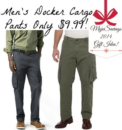 dockers outlet printable coupons men s docker cargo pants only 9 99 free store pick up