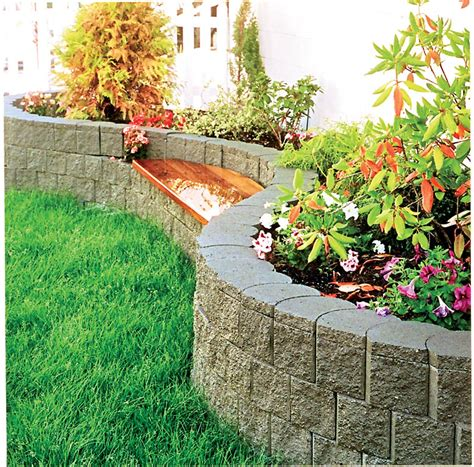 Garden Blocks by Terralite Landscaping Block The Blockmakers
