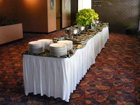 wedding buffet table setting catering make your dream day a reality