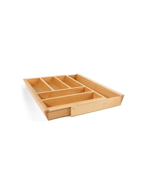 cutlery drawer inserts wickes 800 to 1000mm expending cutlery tray solid oak insert