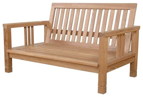 outdoor bench seat south bay deep seating love seat contemporary outdoor