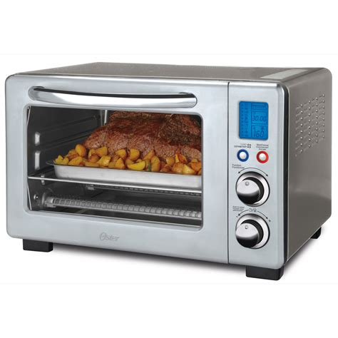 Toaster Oven 6 Slice Oster 174 6 Slice Digital Countertop Oven With Convection