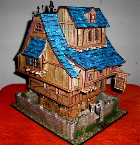How To Make Paper Models Of Buildings - paper model building by gary9450 on deviantart