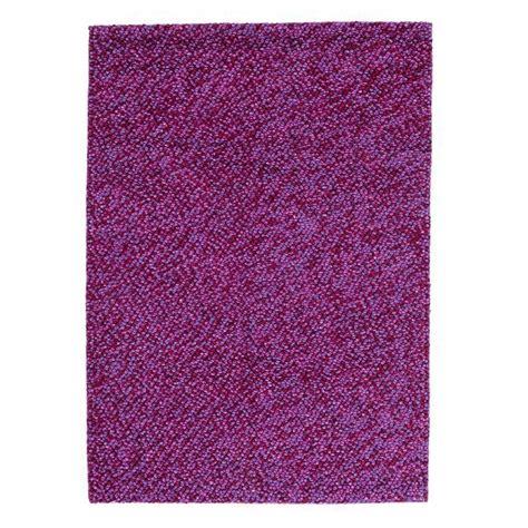 buy felt rug buy felt pebbles lilac 170x240cm the real rug company
