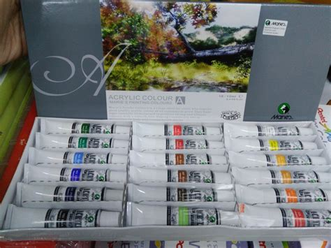 Acrylic Maries jual cat acrylic maries 18 warna di lapak lapak papyrus
