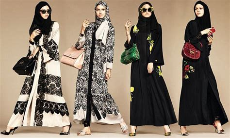 Gamis Abaya Bordir Keong New dolce gabanna launches and abaya collection for