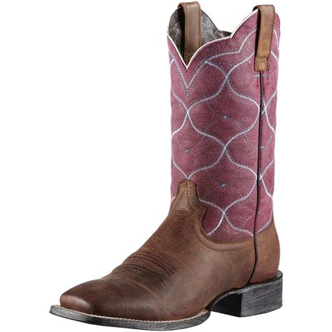 purple boots mens ariat boots s big city purple cowboy town tack