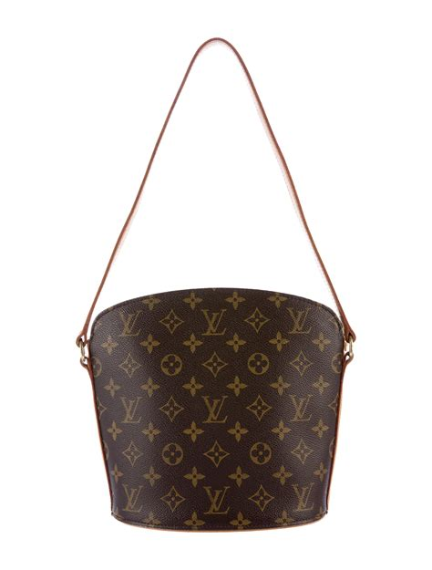 louis vuitton monogram drouot shoulder bag handbags