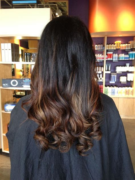 dark brown hair with light brown ombre ombre hair brown dark hair do i dare hair pinterest