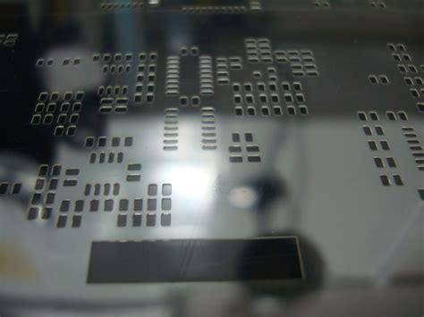 Print Toaster Smt Stencils Laser Cut Stencils Solder Paste Circuit