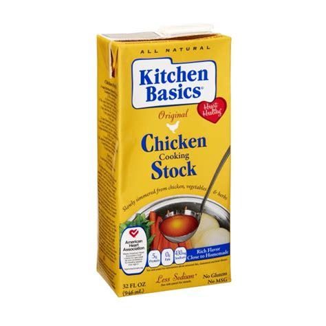 kitchen basics real stock chicken
