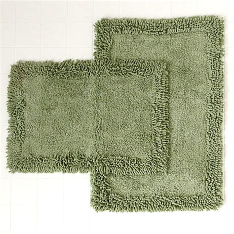 bathroom rugs set home weavers luxury shag bath rug sets