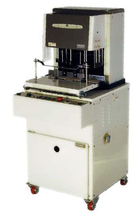 automatic tree automatic three spindle paper drill